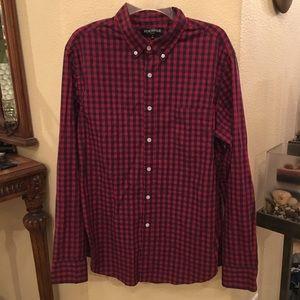 NWT~J. CREW Mercantile Checker Shirt Size Large